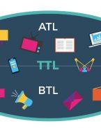 تعاریف و ویژگی های مربوط به رسانه های ATL ,BTL و TTL
