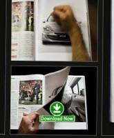 ایربگ پژو را در مجله باز کنید! / ویدیو اش را ببینید / تبلیغات تعاملی جذاب پژو ۴۰۸