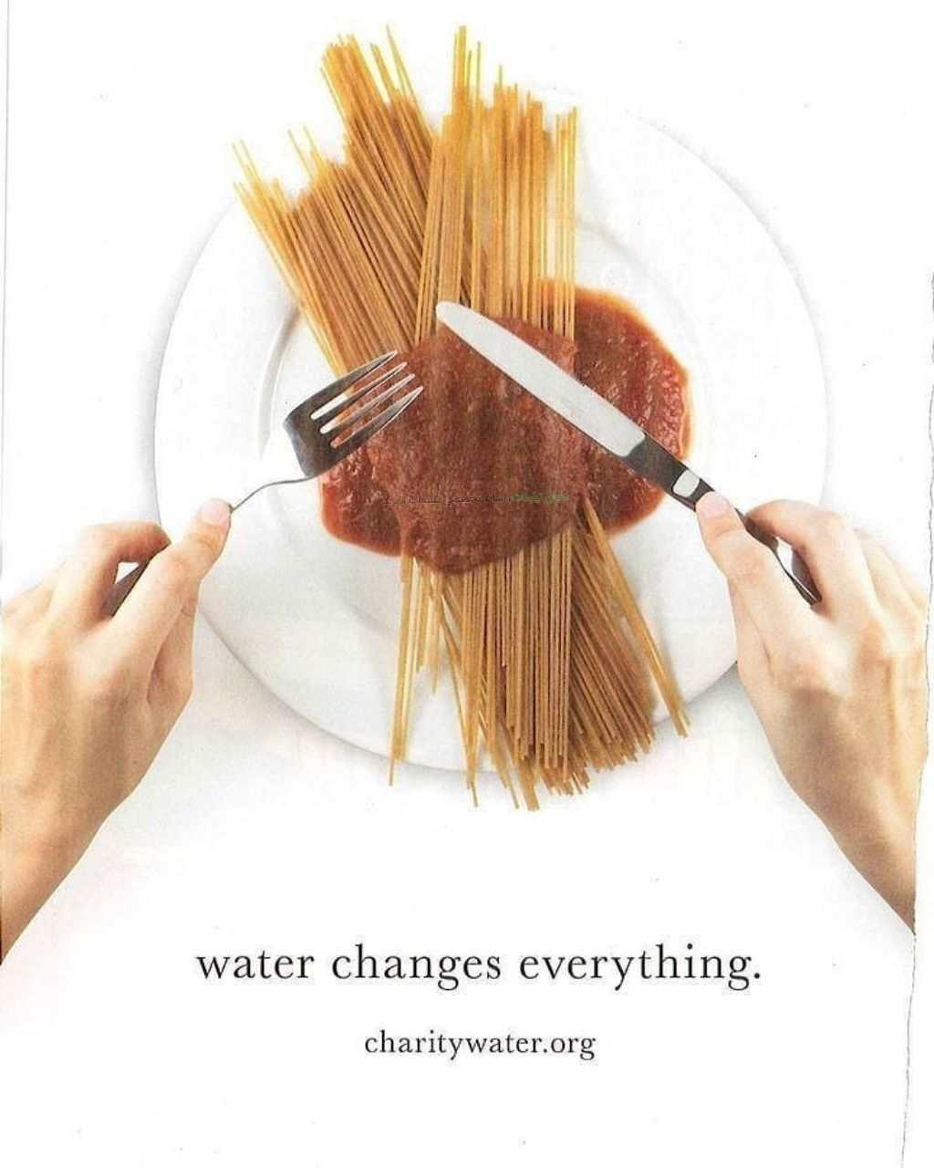 تبلیغ خلاقانه صرفه جویی در مصرف آب / آب همه چیز و عوض میکنه