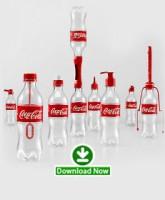ویدیو اضافه شد / زندگی با بطری های کوکاکولا / ایده خلاقانه کوکاکولا برای بطری های خالی اش، مردم و محیط زیست