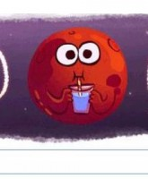 گوگل لوگوی خود را در بخاطر مریخ تغییر داد