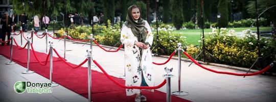 بخش دوم و پایانی / بیش از ۴۵ تصویر / نگاهی به پوشش برخی بازیگران در شانزدهمین جشن حافظ