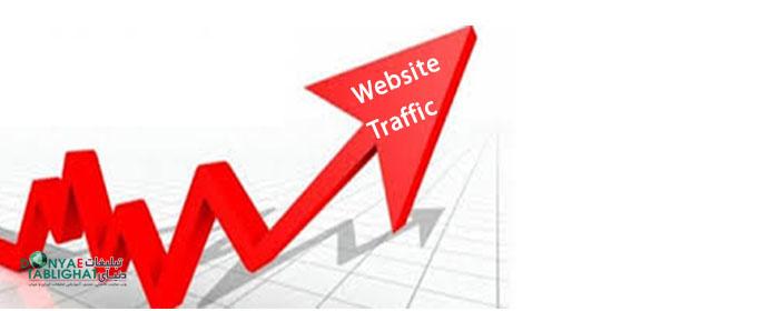 ارتباط بین ترافیک سایت و فروش
