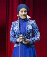 لباس مریلا زارعی، سفیر برند فرش ایرانی / درخشش نقوش ایرانی بر تن «مریلا زارعی»